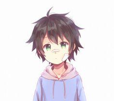 ♥ Boy... Black Hair... Green Eyes... Bandages... Hyakuya Yuuichirou... Owari no Seraph... Anime ♥