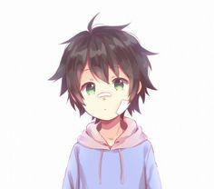 ♥ Boy... Black Hair... Green Eyes... Bandages... Hyakuya Yuuichirou... Owari no Seraph... Anime ♥