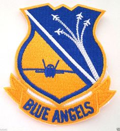 *** USN BLUE ANGELS ***Hero Military Veteran Patch PM5100 EE