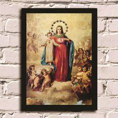 Poster com moldura Maria Imaculada 2 #