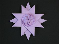 From a square of kami. A variation of this