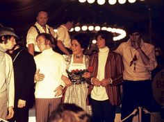 The Bee Gees at Oktoberfest in the 60s