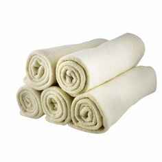 Organic Hemp + Cotton Facial Cloths