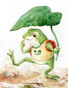 The frog by ~kinly on deviantART