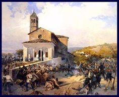Batalla de San Fermo. Más en www.elgrancapitan.org/foro