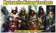 Who can teach history better than them? -Alpha #assassinscreed #assassins #ubisoft #assassinscreedmovie #aguilardenerha #assassinscreed #assassins #creed #assassin #ac #assassinscreeed2 #assassinscreedbrotherhood #assassinscreedrevelations #assassinscreed3 #assassinscreedblackflag #assassinscreedrogue #assassinscreedunity #assassinscreedsyndicate #altairibnlaahad #ezioauditore #connorkenway #edwardkenway #arnodorian #jacobfrye #eviefrye #pc #xbox #playstation