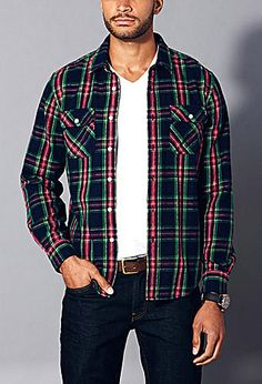 See when Fireside Flannel Shirt is on sale - TrackIf