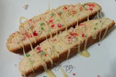 Peppermint biscotti