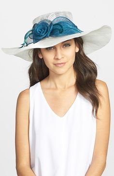 August+Hat+Wide+Brim+Derby+Hat+available+at+#Nordstrom