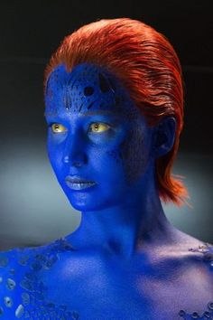 Jennifer Lawrence as Mystique in X-Men: Days of Future Past. Can't wait anymore for the film!!