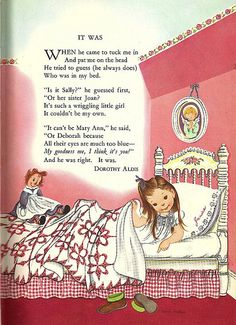 Eloise Wilkin illustration. I think I recall this being in my children books that I grew up with that once belonged to my mother and her sister.