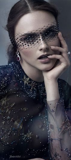 Valentino haute couture. Universe gown