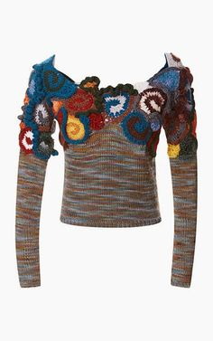 Outstanding Crochet. Free-Form Pullover from RODARTE.
