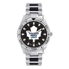 Men s Game Time Toronto Maple Leafs Heavy Hitter Watch 5e343f4f1