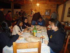 Jantar com Peregrinas Equatorianas