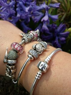 Pandora bangle and moments love