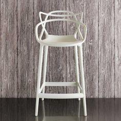 White Phillipe Starck Masters Stool - View All Kitchen - Kitchen - Kitchen, Bed & Bath