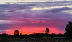 Shepparton Sunset 1st Nov2016