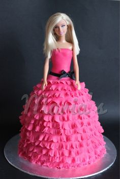 Barbie Cake.  My aunt used to make these for my birthday in my younger years!