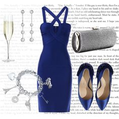 What would Ana Wear? For her surprise 22nd Birthday  by bigbadbrookie on Polyvore featuring Hervé L. Leroux, Charlotte Olympia, Jimmy Choo, Tiffany & Co., Swarovski, Links of London, Thomas Sabo, Trilogy and Cartier