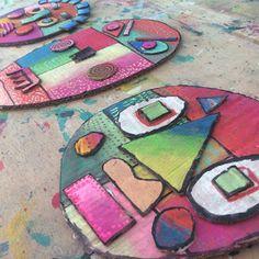 Les ateliers ARTiFun - atelier d'arts plastiques et loisirs créatifs en Guadeloupe: MASQUES DÉCO
