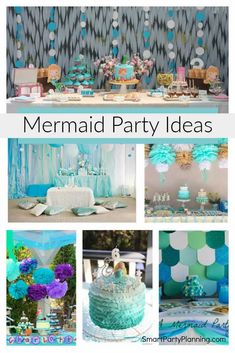 Selection of enchanting mermaid party ideas that can easily be replicated at home. Using DIY party decorations and simple food ideas to create a magical little mermaid party. The girls will love this magical themed party. Little Mermaid Birthday, Little Mermaid Parties, Baby Girl Birthday, Diy Party Decorations, Party Themes, Creative Party Ideas, Food Ideas, Decor Ideas, 3 Kids