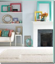 Decorating with pictures frames..yes or no? #pictureframes #decorating #creativity