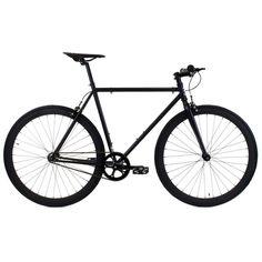 Golden Cycles | Vader Black on Black Steel Frame Fixed Gear Bike