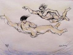 PETER FLINSCH Bodies Floating, 1999