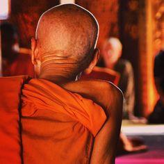 Banphasa, cerimônia de ordenação de noviços - Wat Xieng Thong, Luang Prabang - Laos 2006