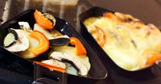 La raclette végétarienne pour les nuls Caesar Pasta Salads, Caesar Salad, Raclette Originale, Galette Des Rois Recipe, Nutrition, Cheesecake, I Want To Eat, Griddle Pan, Barbecue