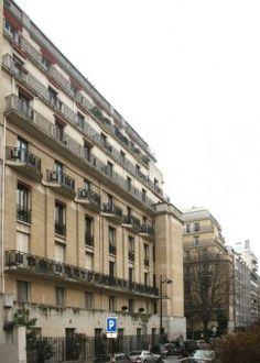 Immeuble Parc Henry Paté (1930) 34, rue Félicien Davis Paris 75016 Architecte : Pierre Patout