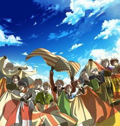 Hetalia...one of the many things that stopped my social life