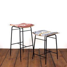 uh oh - pendleton alert  Stout and Porter bar stool