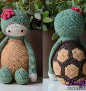 Krissie la tartaruga (Lalylala mod) da Kristel Droog (MyKrissieDolls)
