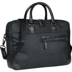 bugatti Herren Businesscase, Textil, schwarz BugattiBugatti