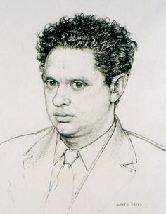 One of three portraits of Dylan Thomas by Alfred Janes (Image: City of Swansea/ Glynn Vivian Art Gallery Collection) An extract from Three Lives of Dylan Thomas by Hilly Janes, which recalls her father's friendship with the poet Dylan Thomas, Writers And Poets, The Spectator, Swansea, Great Words, Being Ugly, Art Gallery, Friendship, Father