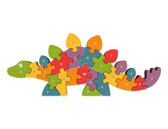 BeginAgain Alphabet Dinosaur Puzzle - #KIWIshop #greenliving #sweepstakes