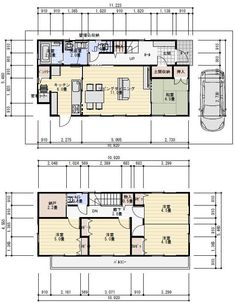 House Layouts, Home Interior Design, Tiny House, Floor Plans, Flooring, How To Plan, Aurora, Sims, Yahoo