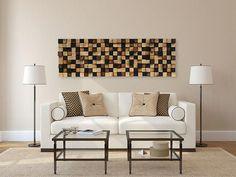 Wall Art - Reclaimed Wood Sculpture - Reclaimed Wall Art