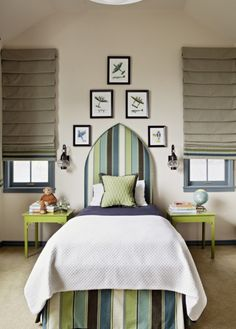 Cute teen bedroom idea Bedroom Color Schemes, Bedroom Colors, Bedroom Pics, Home Bedroom, Kids Bedroom, Bedroom Decor, Childrens Bedroom, Bedroom Ideas, Upholstered Headboards