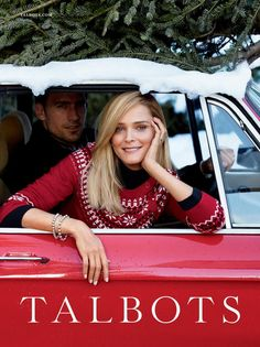 Talbots - Talbots Fall 2013 In this picture:  Carmen Kass  Martin Lowe Credits for this picture:  Greg Kadel (Photographer)
