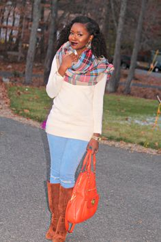 What to Wear with a Blanket Scarf: Fashion a La Mode Link Up - Lisa a la modeLisa a la mode