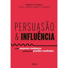 Livro - Persuasão e Influência