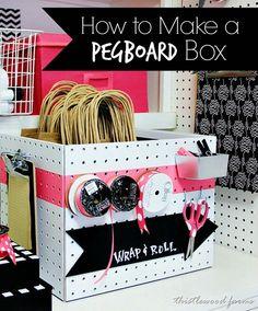 pegboard box