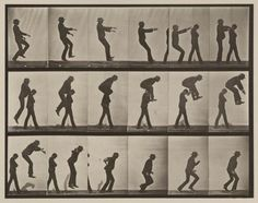 Eadweard Muybridge Jumping over boy's back (leap-frog). Plate 169 1887