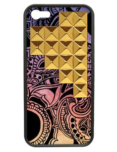 Free Spirit Gold Studded Pyramid iPhone 5/5s case | Wildflower cases