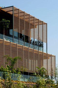 facade 7800 Çeşme Residences and Hotel / Emre Arolat Architects Atelier Architecture, Architecture Design, Architecture Classique, Tropical Architecture, Installation Architecture, Contemporary Architecture, Magazine Architecture, Factory Architecture, Healthcare Architecture