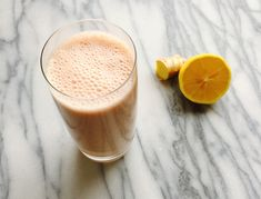 Strawberry Gingersnap smoothie