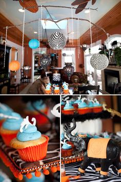 Cirque du Bebe- I hosted a baby shower with this theme last summer. So cute, and great in pics!